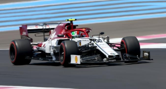 F1, Giovinazzi:
