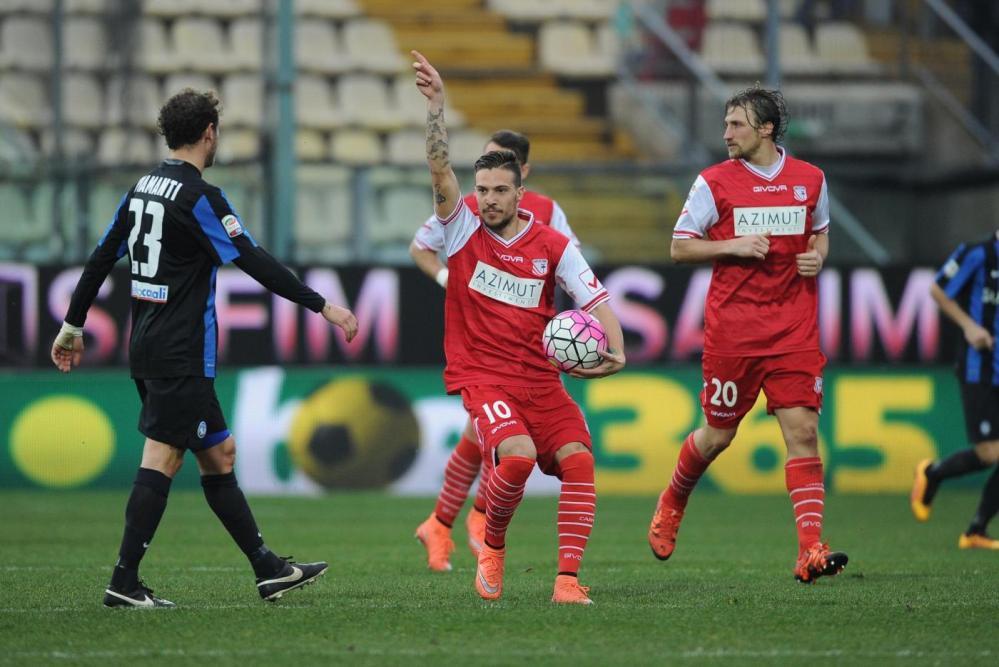 Carpi, chance sprecata: 1-1 con l'Atalanta
