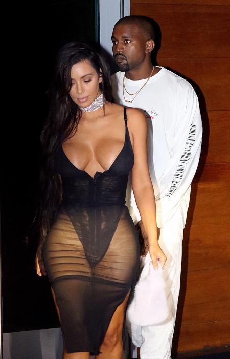 Kim Kardashian... che spavento