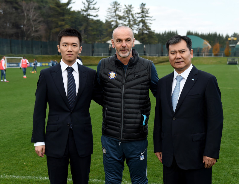 Inter, Zhang e il management ad Appiano