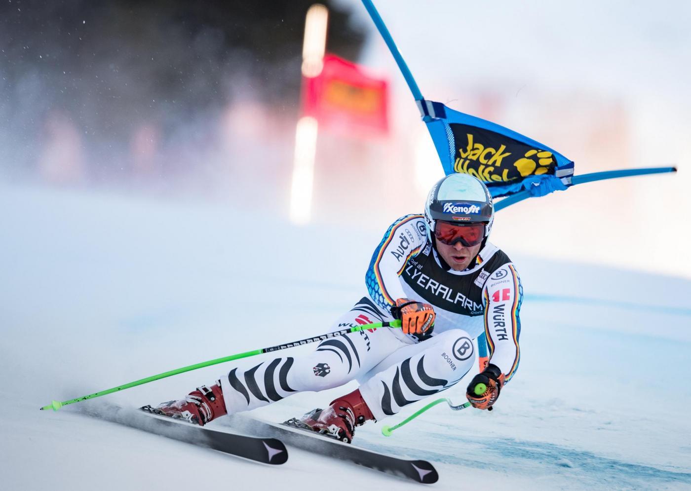 Sci, Paris sul podio del SuperG