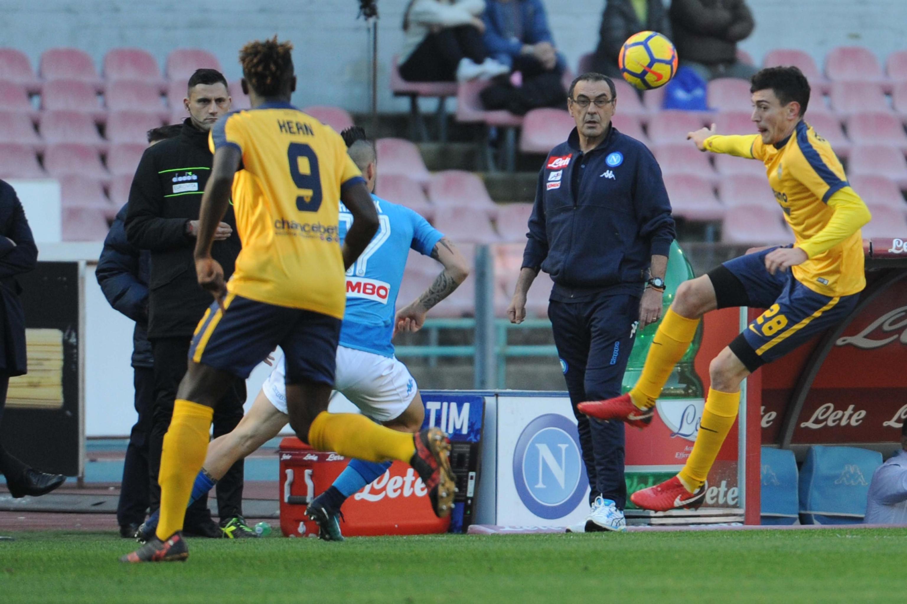 Serie A, Napoli-Verona 2-0