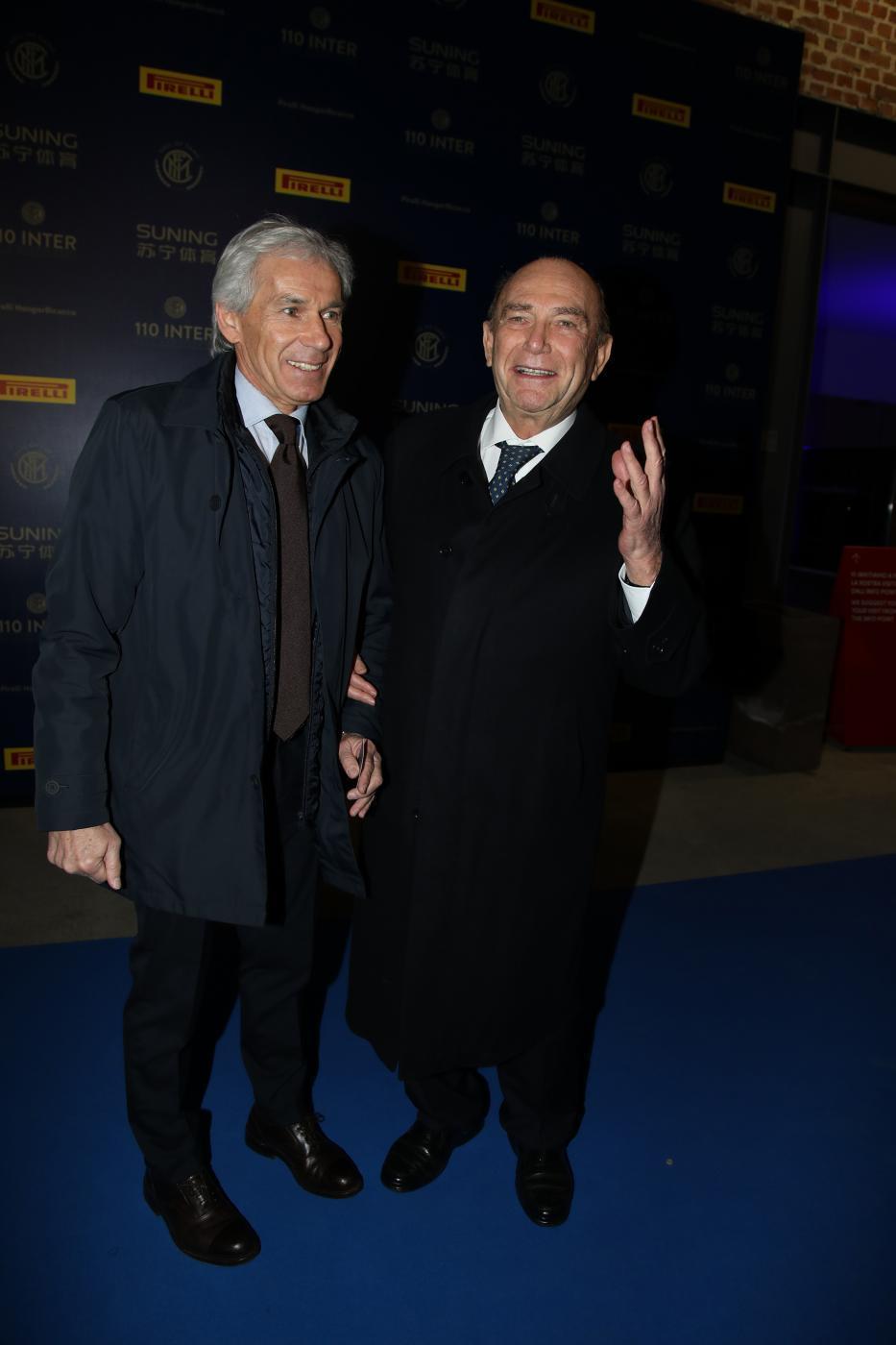 Beppe Baresi ed Ernesto Pellegrini