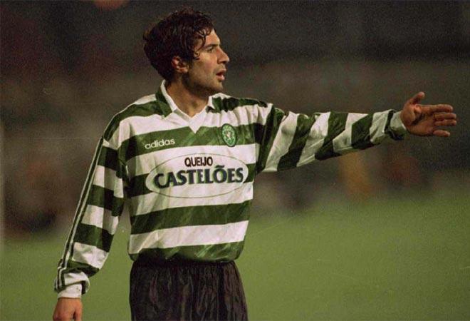 Luis Figo: nell'estate 1995 firma contemporaneamente con Parma e Juve. Alla fine passa dallo Sporting al Barcellona