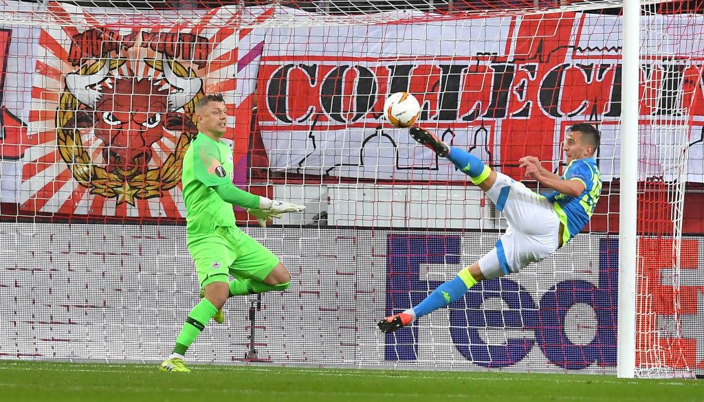 E. League, le foto di Salisburgo-Napoli