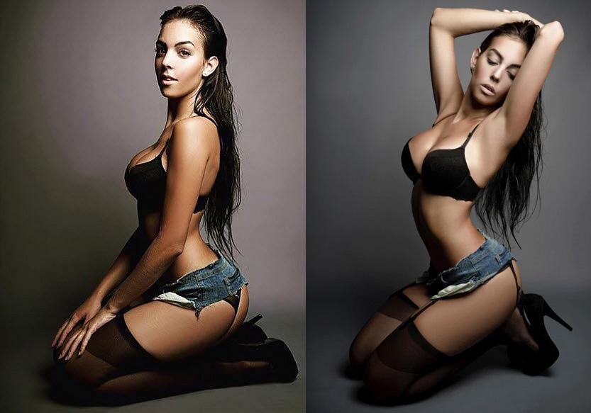 <p>Georgina Rodriguez - Cristiano Ronaldo</p>