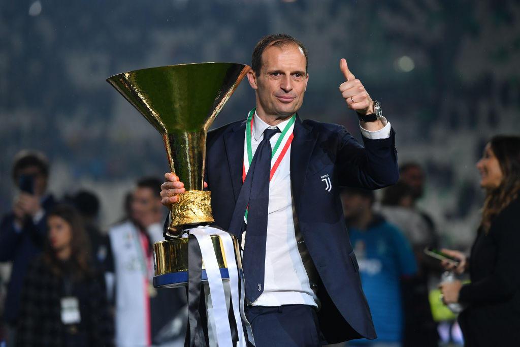 Massimiliano Allegri dopo 5 stagioni trionfali ha lasciato la Juventus