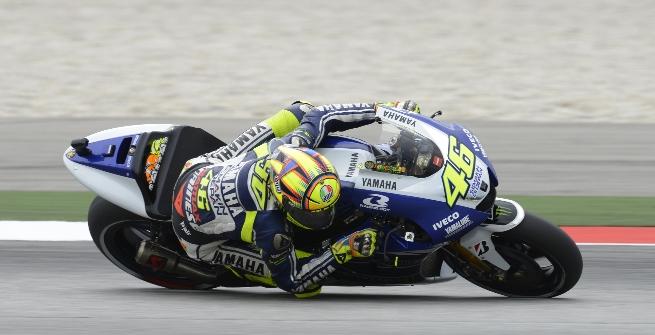 Rossi foto Yamaha