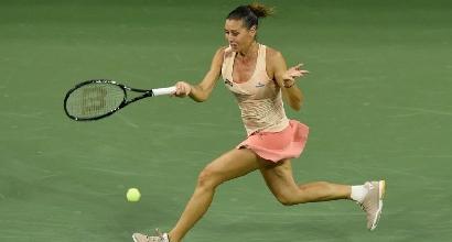 Us Open: Pennetta-Hingis volano in finale nel doppio