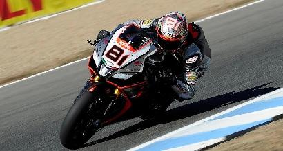 Superbike, Jerez: Jordi Torres fa volare l'Aprilia nel terzo turno