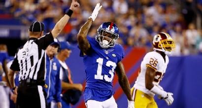 Nfl: squillo Giants, Redskins battuti