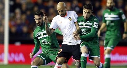 Valencia riparte, Real Sociedad ok