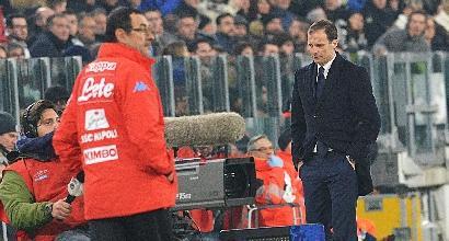 C'è Napoli-Juventus, è la sfida delle sfide
