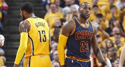 Nba, playoff: mostruoso James, è 3-0 Cleveland