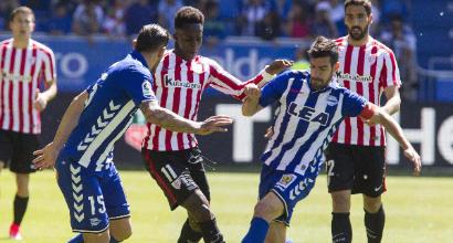 Spagna, Bilbao-Alaves finisce in rissa. E l'arbitro se ne va