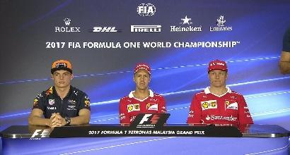 """F1, Vettel: """"Dopo Singapore buona risposta del team. Guardiamo avanti"""""""