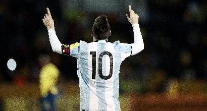Messi trascina l'Argentina ai Mondiali