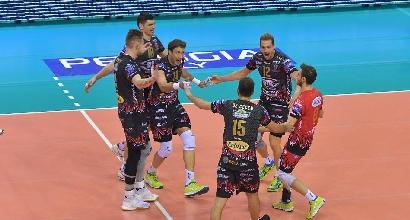 Volley, Superlega: Perugia risponde alla Lube