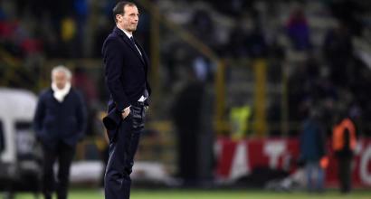 """Juve, Allegri: """"Dybala? La panchina gli fa bene, si sta ritrovando"""""""