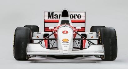 La McLaren di Senna venduta per 4 milioni: l'ha comprata Ecclestone<br />