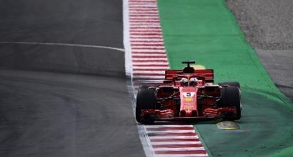 Test F.1, Verstappen il più veloce; terzo tempo per Vettel