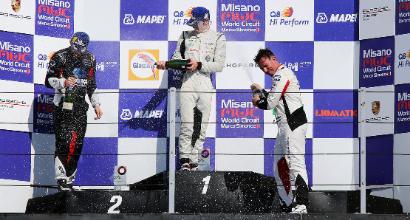 Porsche Carrera Cup Italia, Rovera cala il poker in gara 1 a Misano