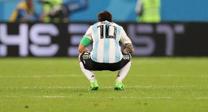 Mondiali 2018: Messi e la triste Albiceleste, la solitudine del numero uno