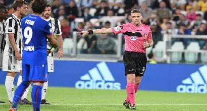 Serie A: Irrati arbitra Juve-Lazio