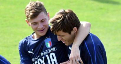 Nazionale, Bernardeschi: ''Nella Juve sono diventato un uomo''
