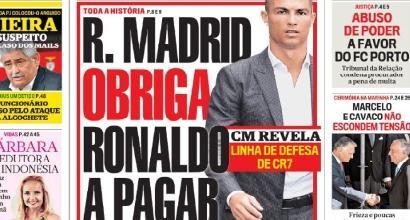 Dal Portogallo: il Real obbligò Ronaldo a pagare la Mayorga