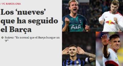 """Luis Suarez """"chiama"""" il suo erede, il Barcellona pensa anche a Icardi"""