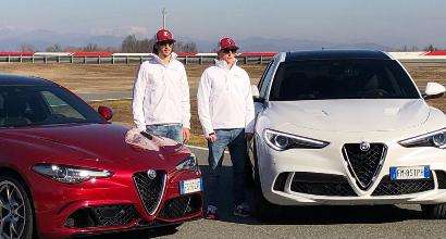 Formula 1, Alfa Romeo Racing: Foto e Video della Presentazione