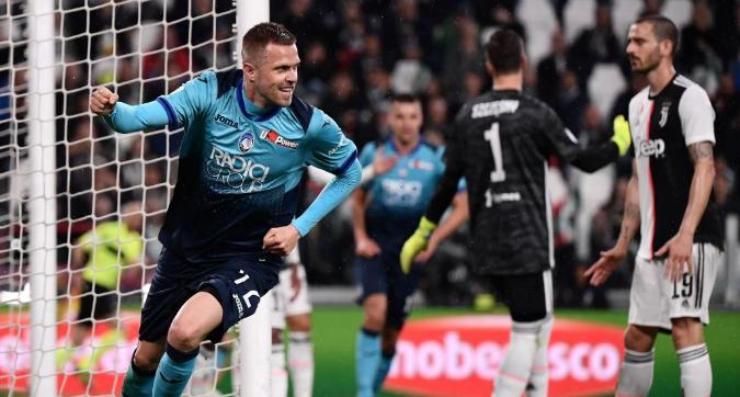 Serie A, Juventus-Atalanta 1-1: Gasperini sale al terzo posto