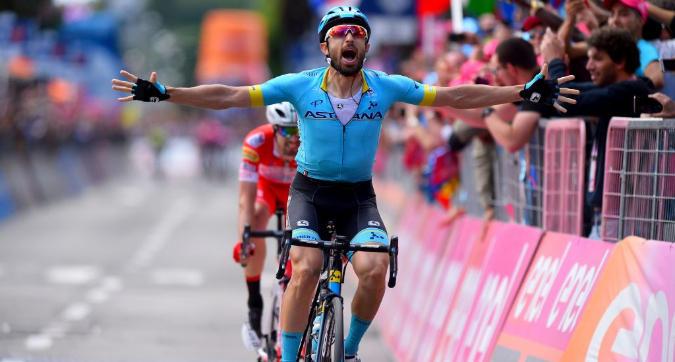 """Giro d'Italia 2019, 15.ma tappa: a Como vince Cataldo. Nibali attacca, Roglic paga 40"""""""
