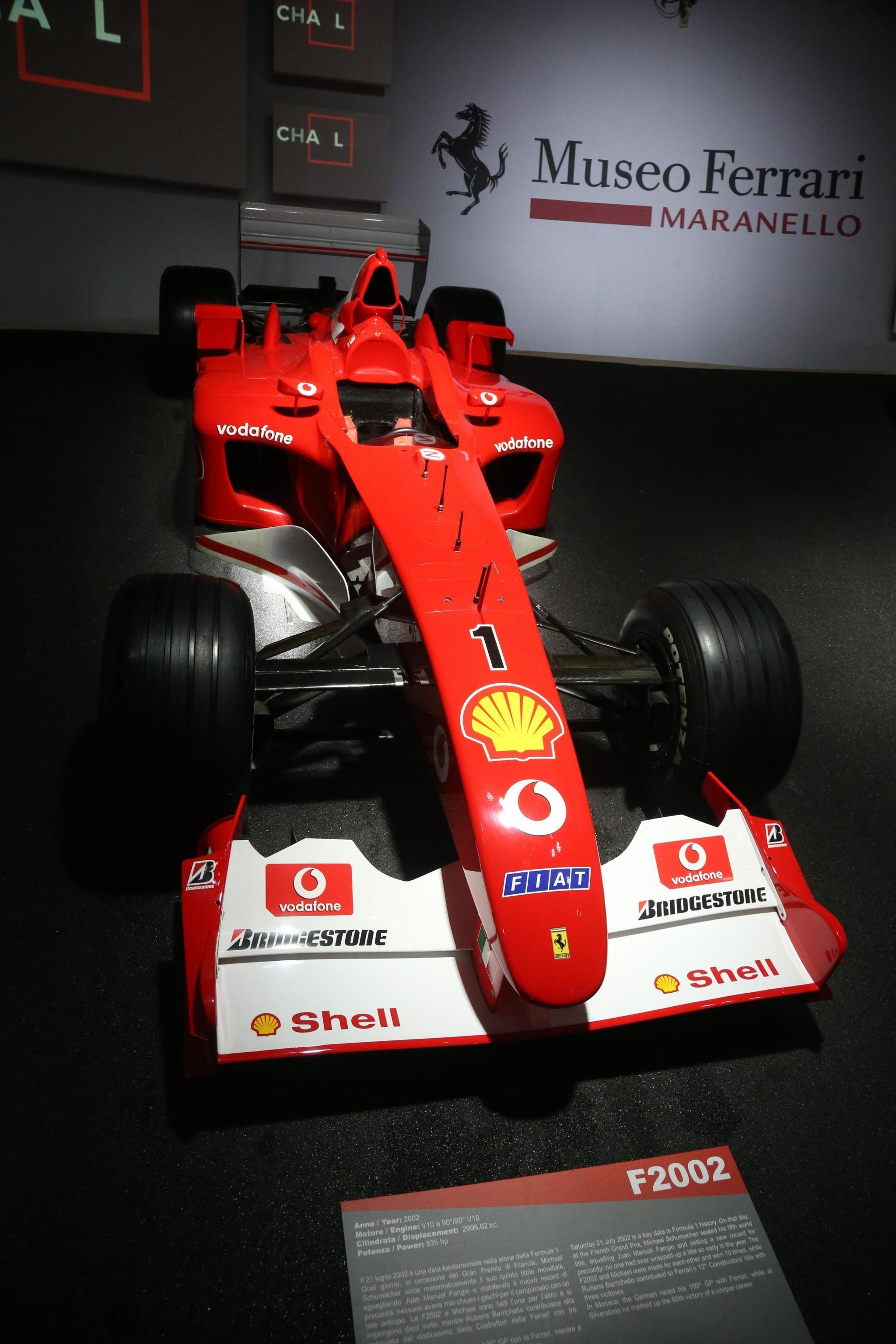 Ferrari, aperta la mostra per Schumi