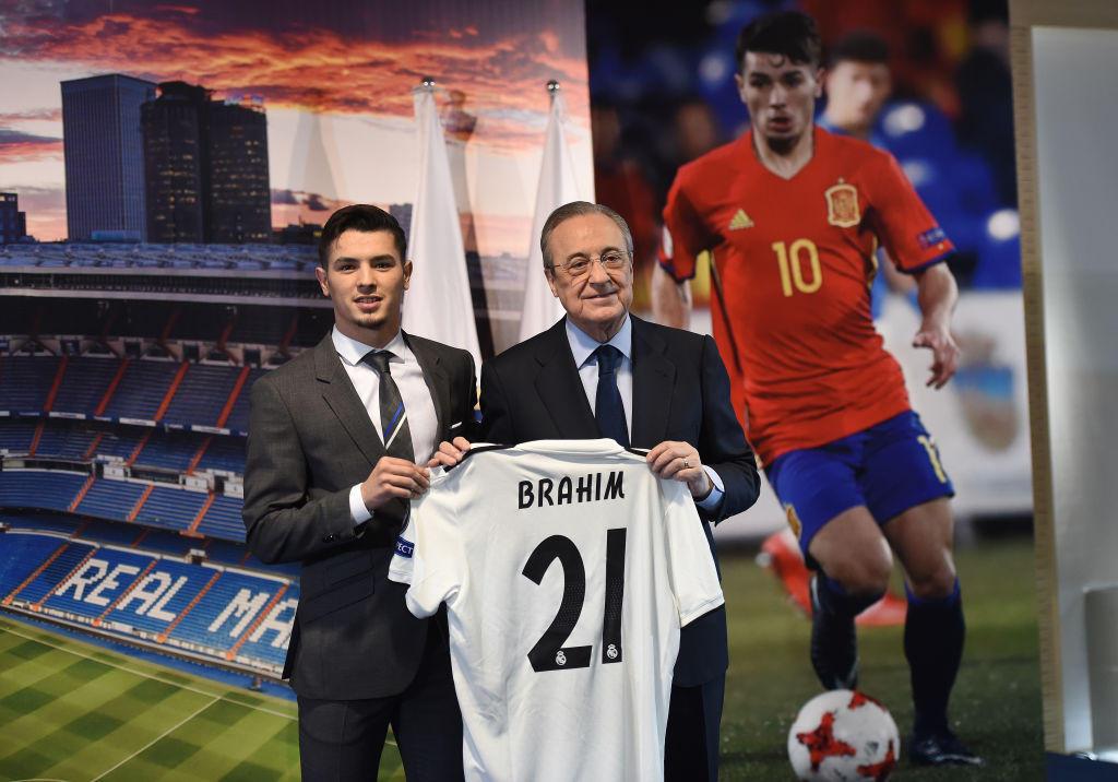 2) BRAHIM DIAZ (REAL MADRID) - 750 milioni di euro