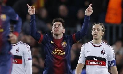 Messi, foto Ap