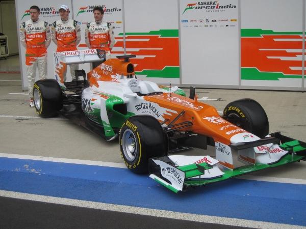 La Force India VJM05
