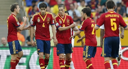 Confederations Cup: Spagna-Tahiti 10-0, poker di Torres