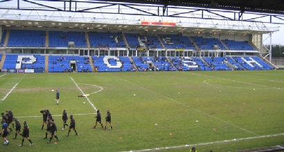 Lo stadio del Peterborough (foto dal web)