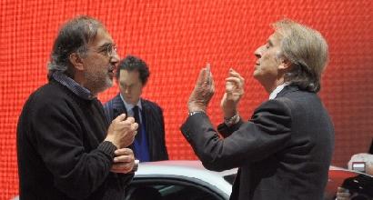 Ferrari, incontro tra Montezemolo e Marchionne