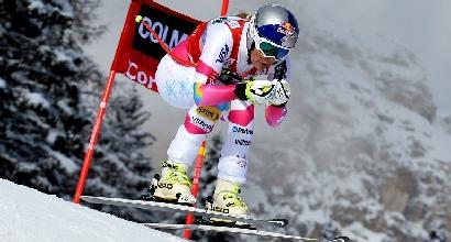 Sci, SuperG Cortina d'Ampezzo: ancora Vonn, è nella leggenda