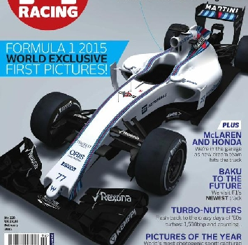 F1, svelata la nuova Williams di Massa e Bottas