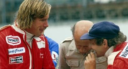 Lauda e Hunt, 40 anni dopo: i figli insieme nella Nascar