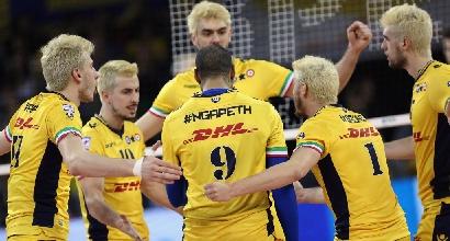 Volley, SuperLega: riscatto Modena, Civitanova vola