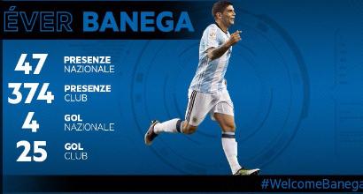 Inter, arriva Banega dalla Spagna