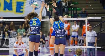 Volley, A1 femminile: Conegliano implacabile, Bolzano al tappeto