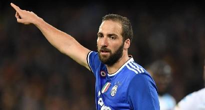 """Juve, lo sfogo di Higuain: """"Non mi aspettavo così tanti fischi a Napoli"""""""