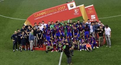 Coppa del Re al Barcellona
