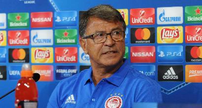 """Olympiacos, il tecnico: """"Una sorpresa per la Juve"""""""